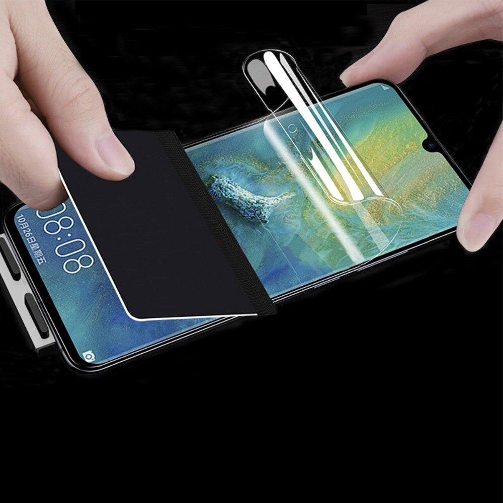 2 Pcs Weiche Volle Abdeckung Screen Protector Für Huawei Mate 10 20 Pro Lite 20x Hydrogel Tpu Film Für Ehre 8x Max & Werkzeuge Nicht Glas