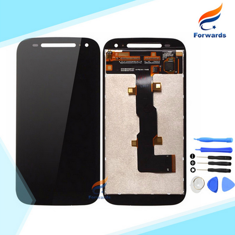10pcs/lot DHL/EMS free shipping for Motorola Moto E2 E+1 XT1505 XT1511 LCD Screen Display with Touch Digitizer Tools Assembly free dhl ems shipping warranted lcd for huawei g700 screen display with touch digitizer white black color tools 10 pieces a lot