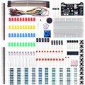 Электронный Fun Комплект Для Arduino Комплект с Макет Кабель Резистора Конденсатор Светодиодов