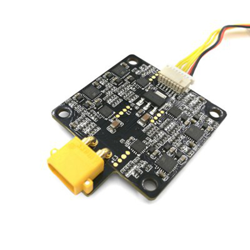 ФОТО High Quality Youbi XV 130 PDB XT60 Integraded 4-in-1 BLHeli_S 20A ESC Power Distribution Board for FPV Micro Race RC Model