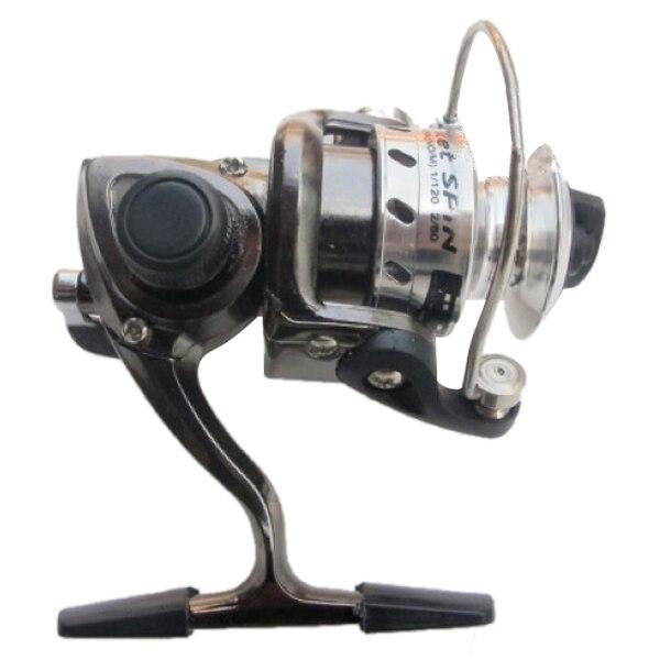 TCF Mini Fishing Reel Palm Size Metal Coil Ultra Light Small Spinning Reel For Ice Fish Pen Fishing Rod Fishing Windlass