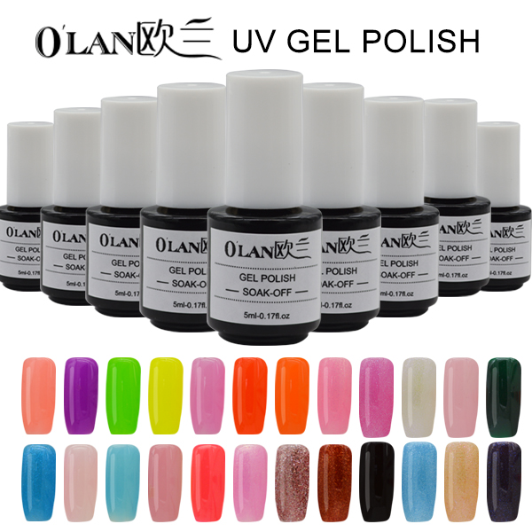 Aliexpress.com : Buy 2016 New Arrival OLAN Color Gel Nail Polish ...