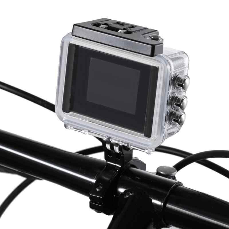 Carbon Bike Lenker Montieren Clip Griffe Halter Fahrrad Rig Roll Bar Sattelstütze für Gopro Hero 6 5 4 Rennrad zubehör