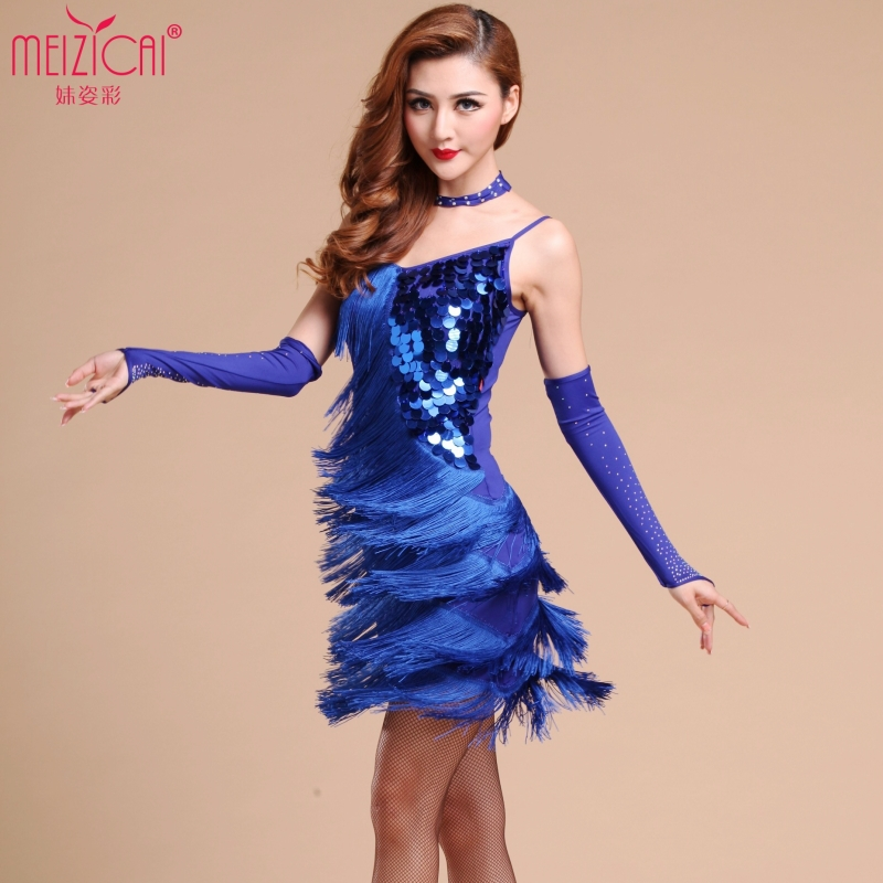 Free Shipping Latin Dance Dress Professional Samba Salsa Dresses Costumes Clothes For Dancing In From Novelty Special Use On