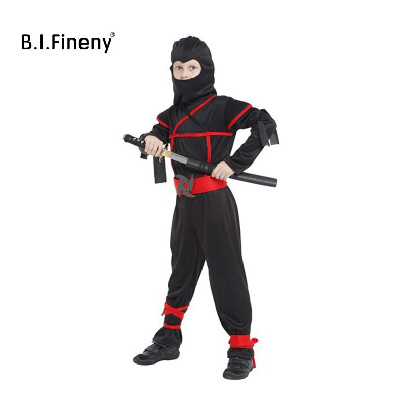 Gift Warrior Ninja Costumes Birthday Party Cosplay Clothing Kids Performance Costume Halloween Boy Girl Clothes