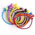 Pulsera de moda 1000 unids 3mm Cuerda de La Joyería Mezclada Giro Chino de Satén de Seda Para Grano Europeo DIY