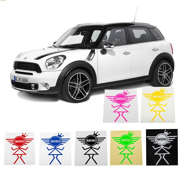 Online Shop Personality Fashion Princess Stickers And Decalscar - Bmw mini cooper decals