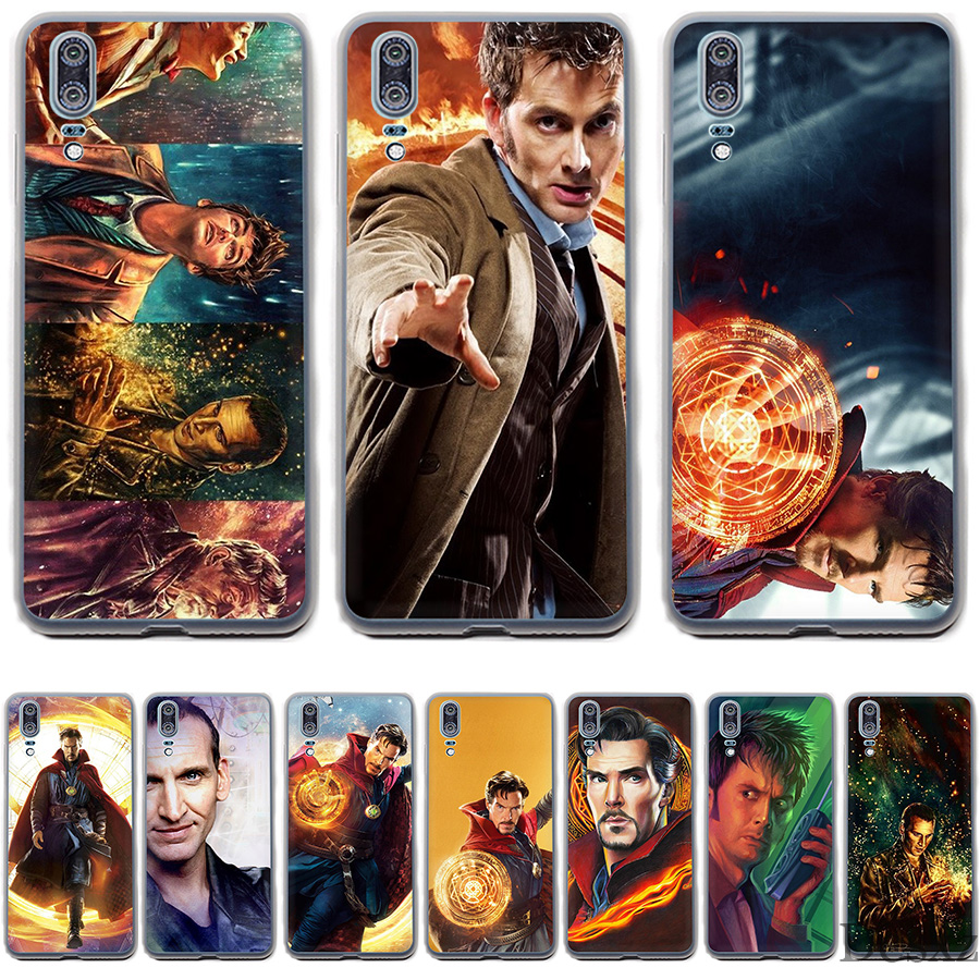 Expressive Gerleek Case For P8 P9 P10 P20 Lite Pro Mini Plus P Smart 2019 Cover Phone Tardis Box Doctor Who 2019 Latest Style Online Sale 50% Phone Bags & Cases Half-wrapped Case