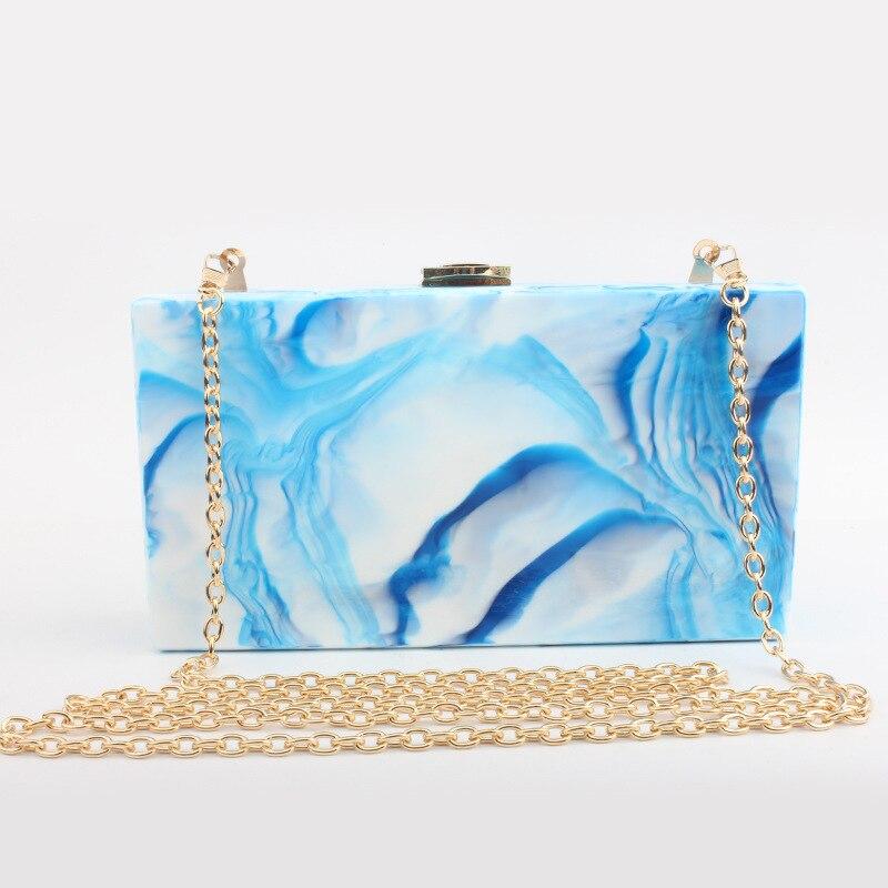 ФОТО 2017 lady new design stone line acrylic ladies evening bag fashion high quality small party bag prom dinner clutch handbag