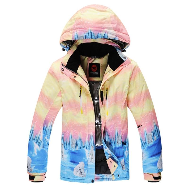 Prix pour Femme de neige En Plein Air vestes de snowboard veste de ski femmes veste imperméable ski manteau pour femmes sportswear chaud respirant