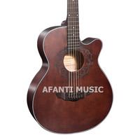 41 inch Coffee color Acoustic guitar of Afanti Music (AAL 158)