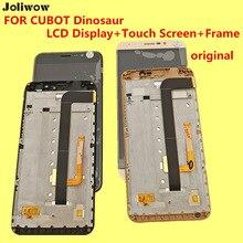 D'origine POUR CUBOT Dinosaure Écran lcd + Écran Tactile + Cadre + Outils Digitizer Assemblée Remplacement Accessoires 5.5 «1280*720
