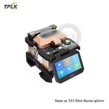 7s Сращивание 4,3 дюймов высокой четкости емкостный сенсорный экран аппарат для сварки волокон легко работать так же, как T45 fusion splicer