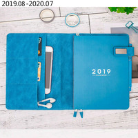 A5 Daily Weekly Planner Organizer Refillable Personal Diary Notebook School Office Agenda 2019 2020 Schedule Notepad Stationery