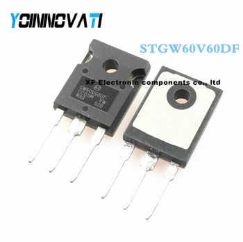 Free shipping 10pcs/lot STGW60V60DF GW60V60DF STGW60V60 IGBT 600V 80A 375W TO247 Best quality - Category 🛒 Electronic Components & Supplies