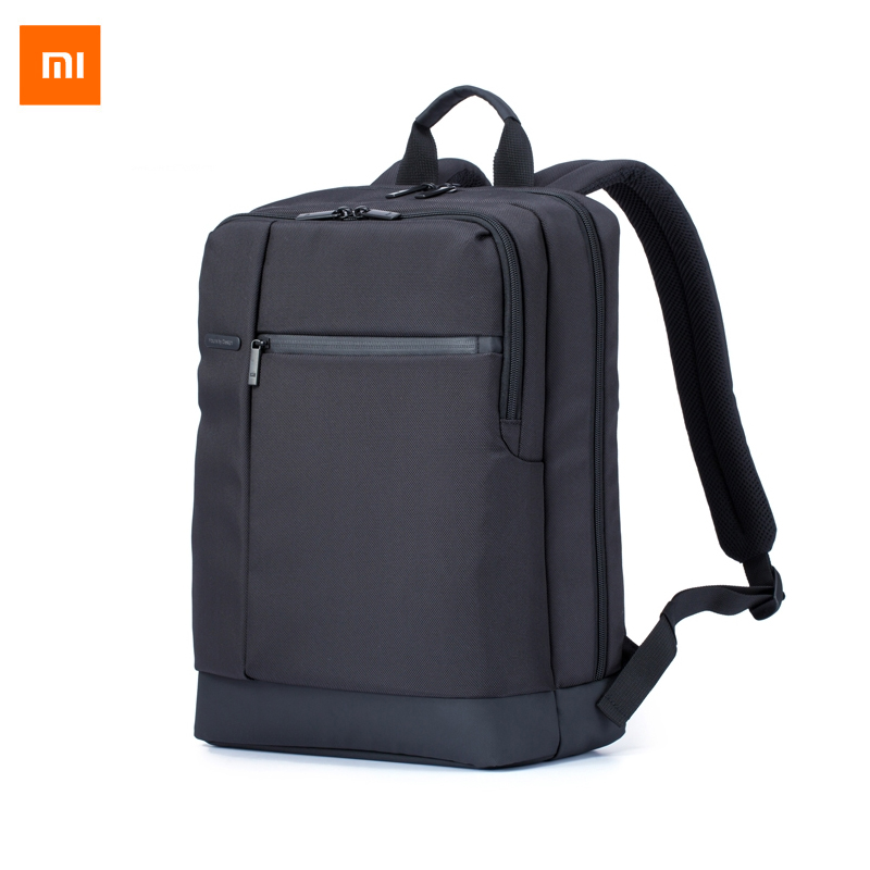 ФОТО New Original xiaomi backpack brief school bag with 17L Capacity Business Backpack for 15 inches of computer/xiaomi plate