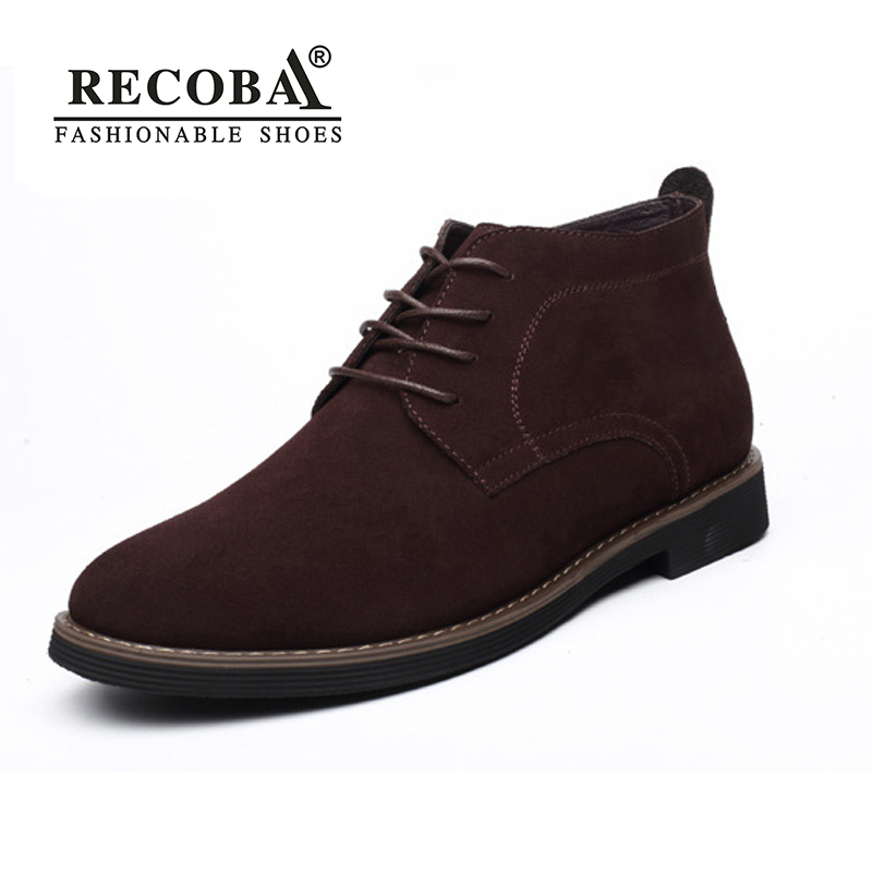 Mens boots winter shoes large size 45 suede ankle desert boots warm fur shoes winter chelsea boots snow boots zapatos hombre mens shoes warm fur boots men casual shoes male genuine leather zapatos winter snow boots zapatillas hombre plus size 38 50