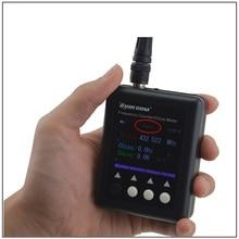 SF 401Plus 27 MHz 3 GHz SURECOM Taşınabilir Frekans Sayacı ile CTCSS/DCS Dekoder (Analog ve DMR Dijital radyo Sinyal hem test edilebilir)