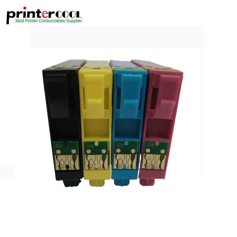 1Set T0921 T0921N Compatible Ink Cartridge For Epson Stylus CX4300 TX117 T26 T27 TX106 TX119 TX109 C91 Printer T0921 T0924 in Ink Cartridges from Computer Office