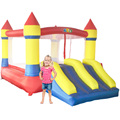 2015 venta superior doble diapositiva casa de brinco inflable castillo inflable gorila por yard envío libre