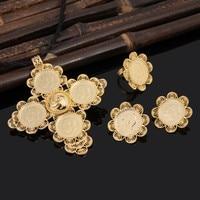 Bangrui Ethiopian Ethnic Jewelry Sets Necklaces Earrings Ring Bangle Gold Plated African Habesha Wedding Gift Eritrea