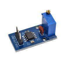 20 sztuk NE555 regulowana częstotliwość moduł generatora impulsów dla Arduino Smart Car