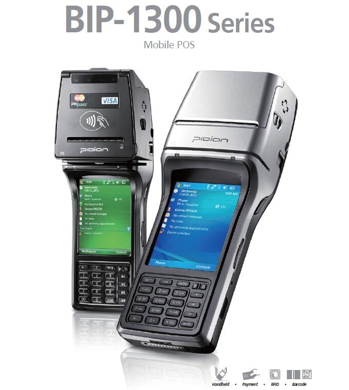 Newest Original Bluebird BIP1300 M2W PDA data collector IC card reader laser scanner font b receipt