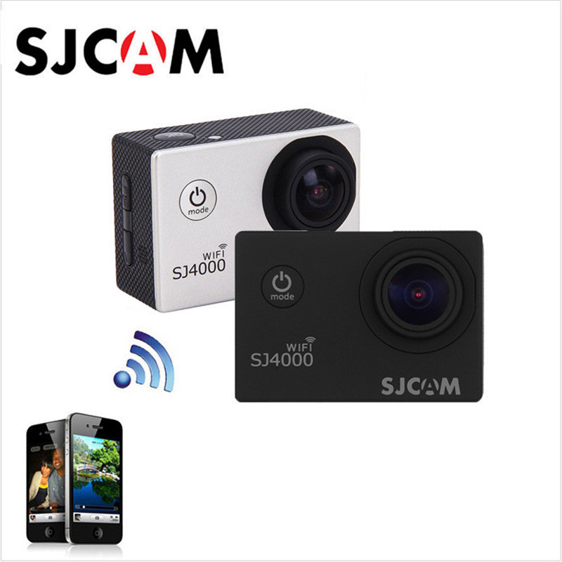 SJCAM SJ4000 900mAh Battery DV / Car WiFi 1080P 2.0inch LCD P68 DVR waterproof Action Camera Sport Compatible With IOS Android