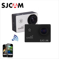 SJCAM SJ4000 900mAh Battery DV Car WiFi 1080P 2 0inch LCD P68 DVR Waterproof Action Camera