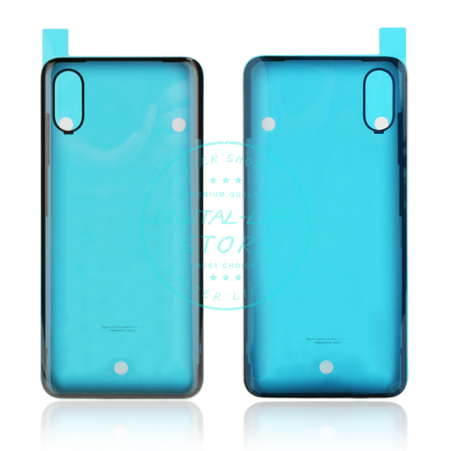 official photos 8bfa5 0eef7 US $18.51 20% OFF|Original for Xiaomi Mi 8 Explorer Battery Back Cover  Glass Housing Door Mi8 Explorer Rear Battery Case + Glue Replacement  Parts-in ...