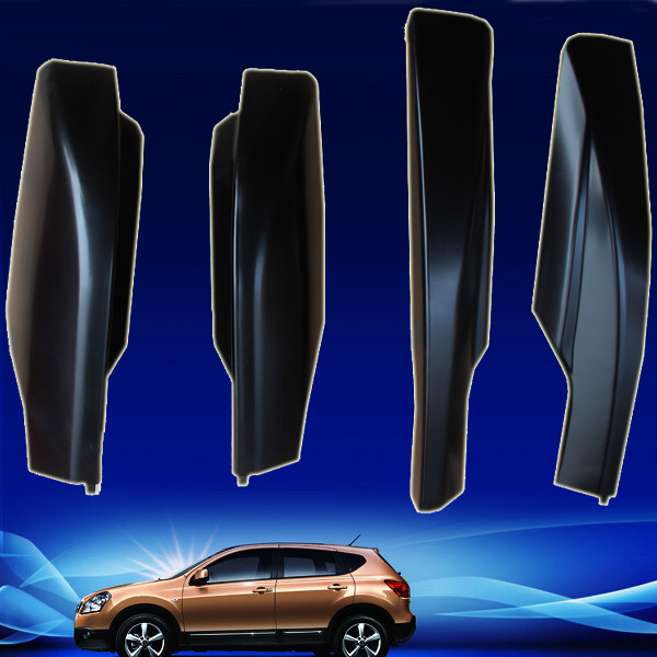 Car styling For Nissan Qashqai 2007-2013 Roof Rack Rail With Screws Roof Luggage Carriers Baggage Cover 4PCS/SET