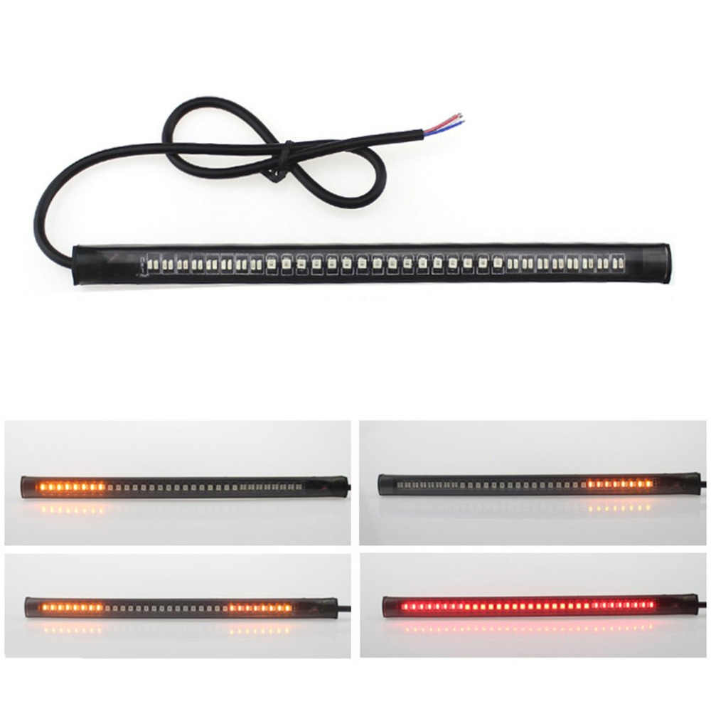Waterproof Super Bright Flexible Strip Light Decoration LED Light Signal Light Universal For Auto Car Motorcycle Truck