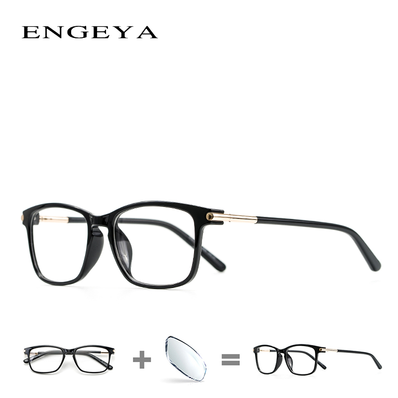 c3925fcf82 TR90 Clear Prescription Glasses Retro Optical Photochromic Blue Light  Myopia Eyeglasses Frame Men Women  6601-in Prescription Glasses from  Apparel ...