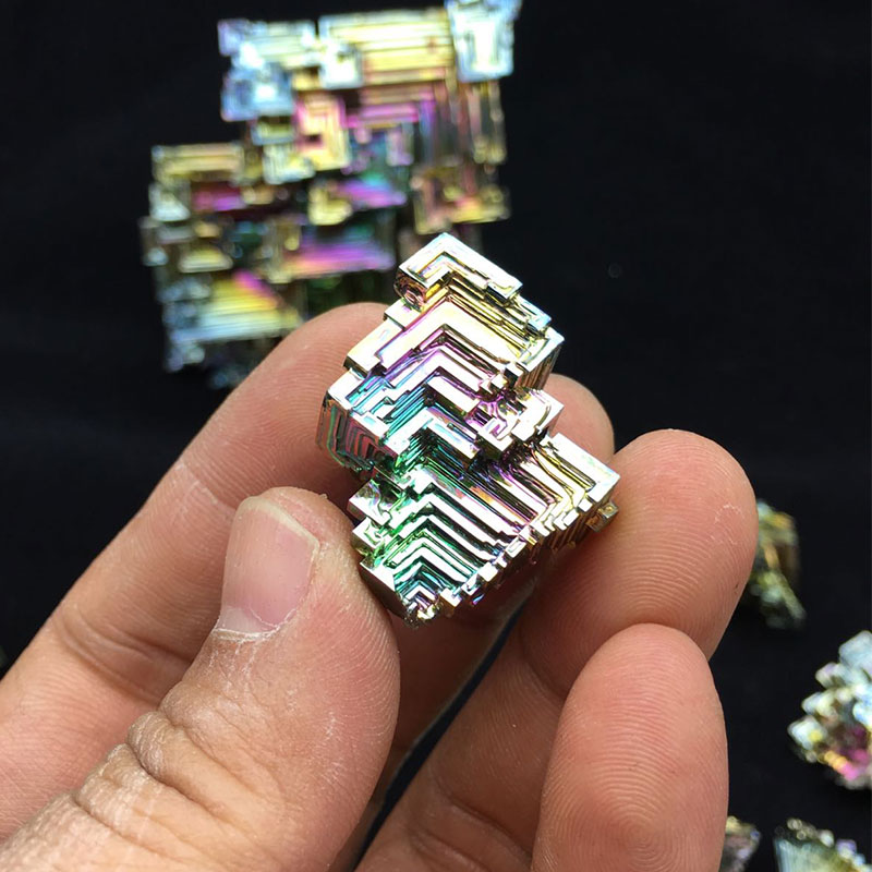1000g Bismuth Crystals Specimen Bismuth Metal Bismuto Jewelry Child Children's Girlfriend Birthday Gift Laboratory Bi -1000g 1000g
