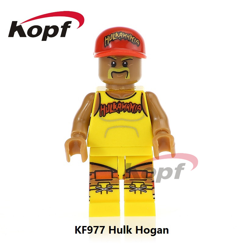 Single Sale Building Blocks Super Heroes Hulk Hogan Clubber Lang Carnage Spiderman Bricks Christmas Toys for Children Gift KF977 chic rhinestone african plate shape pendant necklace and earrings for women