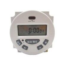 Countdown AC220V cycle timer, AC110V, DC24V/12V micro-small time controller, L702 single and double-segment countdown controller цена в Москве и Питере