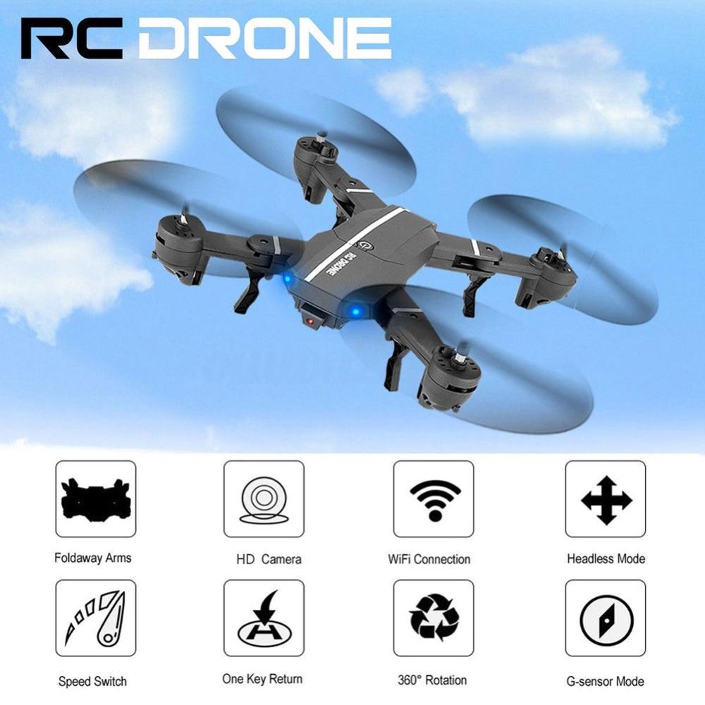 Gorąca sprzedaż nowy wysokiej jakości RC Quadcopter Drone zabawki bez WIFI 8807 W Drone składany 2.4G i aparat dla dzieci prezenty bożonarodzeniowe #258377 w Helikoptery RC od Zabawki i hobby na  Grupa 2