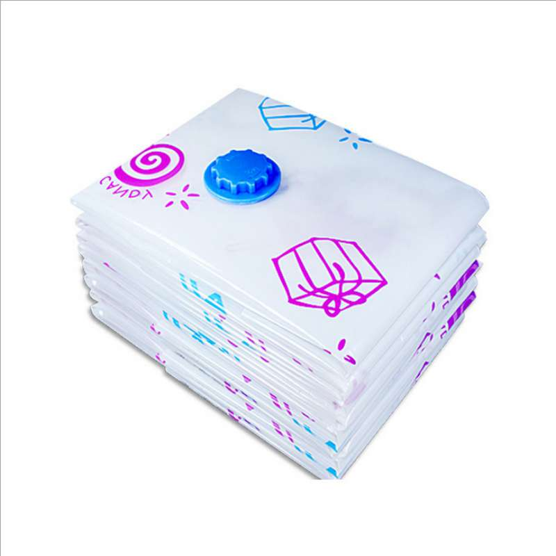Image 4 - Arrival Flower Printed Foldable Extra Large Compressed Organizer Vacuum Bag Clothing Storage Bag Saving Space-in Storage Bags from Home & Garden