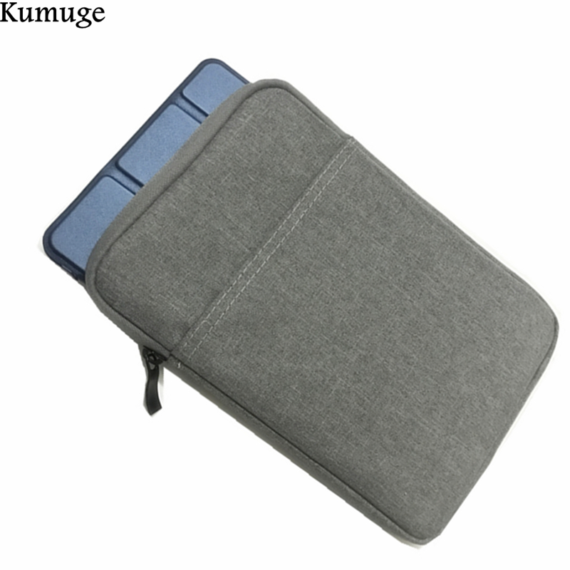For New iPad 10.5 inch Shockproof Tablet Sleeve Pouch Bag for 2017 iPad Pro 10.5 Model A1701 A1709 Soft Cotton Tablet Cover Case