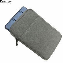 For New iPad 10.5 inch Shockproof Tablet Sleeve Pouch Bag for 2017 iPad Pro 10.5 Model A1701 A1709 Soft Cotton Tablet Cover Case tablet cover for ipad pro 10 5 inch detachable bluetooth keyboard case for 2017 ipad 10 5 a1701 a1709 stand cases