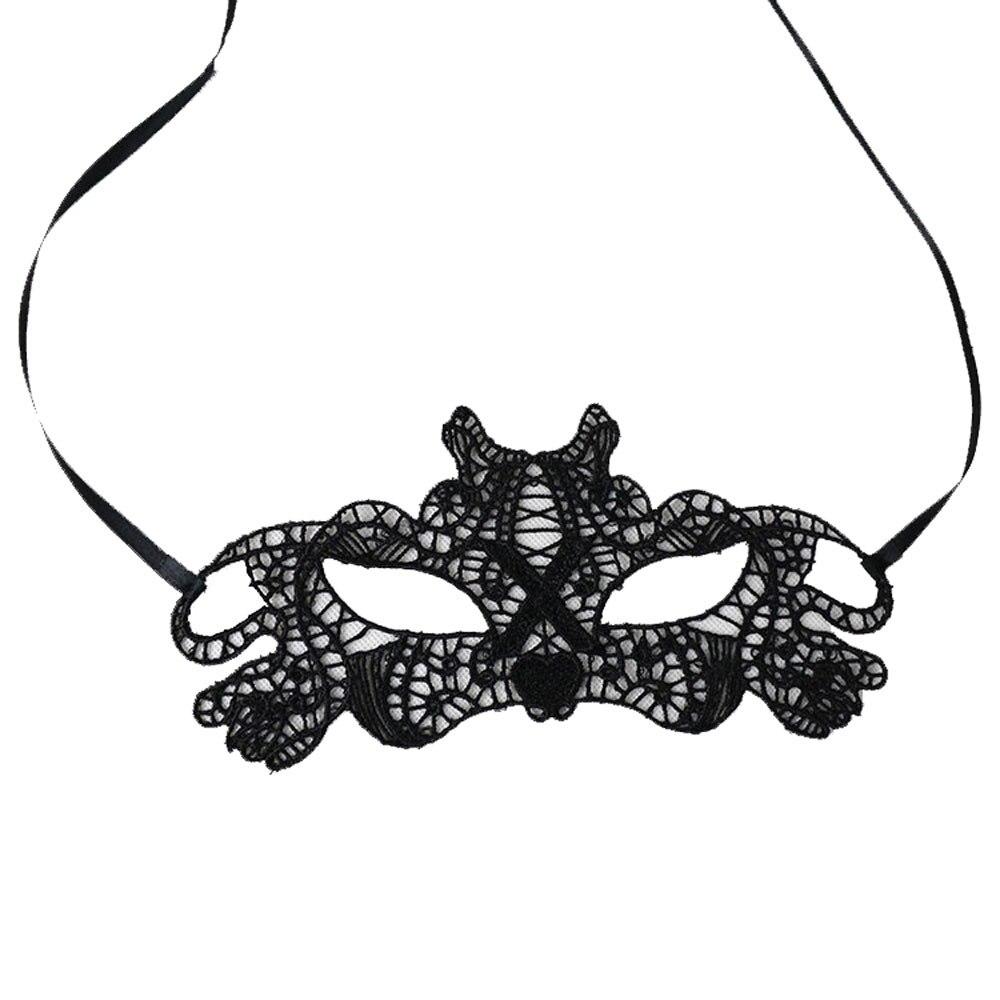 1 Pc Frauen Maske Newsexy Elegante Eye Maske Maskerade Ball Karneval Phantasie Party A0401 Einfach Und Leicht Zu Handhaben