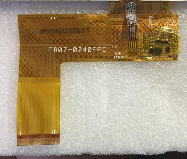 free shipping original 7 inch LCD screen original cable number: FB0-0240FPC free shipping original 10 1 inch lcd screen original cable number kd101n7 50nb a7