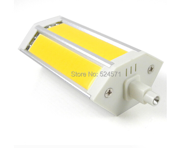 Free Shipping R7S J118 12W LED Dimmable Flood Light 3 COB LEDs 118mm LED Bulb in Warm White/Cool White Energy-saving Lamp