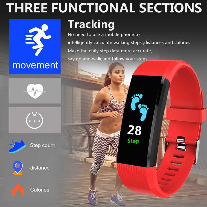 ZAPET 新規スマート腕時計男性女性心拍数モニター血圧フィットネストラッカースマートウォッチのための ios アンドロイド + ボックス