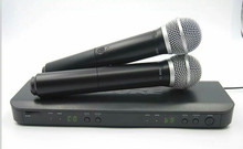 Professional for stage! BLX BLX288 BLX88 PG 58A UHF Wireless Microphone Karaoke System With PG58 Dual Handheld Transmitter Mic