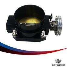 PQY RACING-BLACK 80 ММ Q45 КОРПУСА ДРОССЕЛЬНОЙ ЗАСЛОНКИ Впускной Коллектор ДЛЯ nissan RB25DET RB26DET GTS RB20DT PQY6943BK