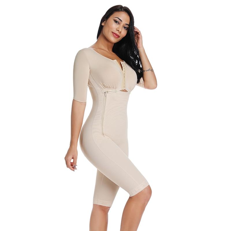 Image 3 - Slimming Bodysuit Body Shaper Post Surgery Seamless  Compression Garment Full Shapewear Colombianas Reductoras-in Bodysuits from Underwear & Sleepwears