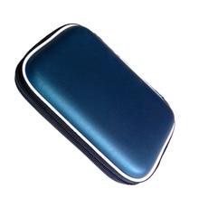 """PU водонепроницаемый внешний жесткий диск Портативный чехол на молнии сумка чехол протектор для 2,"""" WD Seagate"""