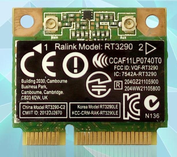 SSEA NEW For Ralink RT3290 802.11b/g/n WIFI Bluetooth Half Mini PCI-E For HP CQ58 M4 M6 4445S DV4 G4 G6  G7 SPS 690020-001