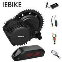 8Fun 48V1000W Bafang BBSHD bike motor e bike conversion kit with 48V13AH battery electric Bafang motor all for bicycle